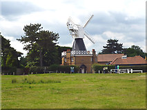TQ2372 : Wimbledon Common: windmill by Dr Neil Clifton