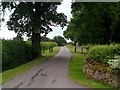 SP9451 : Private road which is a public bridleway to Turvey Hall by Bikeboy