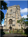SP7416 : St Michael & All Angels, Waddesdon by Eirian Evans