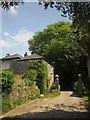 SX4161 : Gateposts and lodge, Moditonham by Derek Harper
