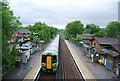 TQ3049 : Train at Nutfield Station by N Chadwick