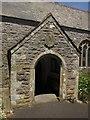 SX4061 : Church porch, Botusfleming by Derek Harper