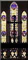 TQ3389 : Holy Trinity, Philip Lane, Tottenham Green - Stained glass window by John Salmon