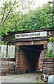NS2491 : Entrance to Garelochhead station by Ben Brooksbank