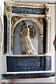 SX1460 : The Boconnoc Estate - parish church of Boconnoc (dedication unknown) - monument to Penelope Mohun by Mike Searle