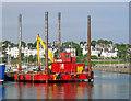 J5082 : Jack-up barge, Bangor : Week 30