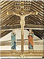 SZ5281 : Rood Beam, All Saints' Church by David Dixon