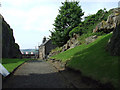 NS3974 : Dumbarton Rock and Castle by Thomas Nugent