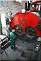 SD8634 : Queen Street Mill - feeding the boiler : Week 30