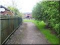 NS7855 : Wishaw Pathway by Ross Watson
