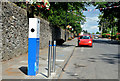 J2459 : E-car charging point, Hillsborough by Albert Bridge