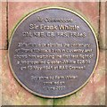 Photo of Frank Whittle bronze plaque