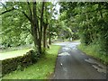 SK2599 : Hunshelf Road below Carr Head Farm : Week 31