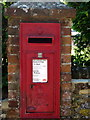 SP7920 : George VI postbox at the top of Market Hill by Philip Jeffrey