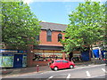 TQ5839 : Disused shops on Mount Pleasant Road by Oast House Archive
