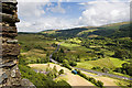 SH7252 : Dolwyddelan Castle (5) - view from the battlements by Mike Searle