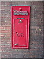 TL0142 : George V postbox at Stewartby by Philip Jeffrey