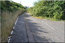 SS2102 : Section of the old A39 by Julian P Guffogg
