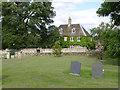 SK8632 : Leys House from the churchyard by Alan Murray-Rust