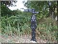 TQ3678 : Sustrans milepost at Deptford Strand by Stephen Craven