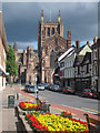 SO5039 : King Street and Hereford Cathedral : Week 34