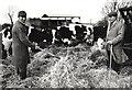 TF4008 : In the crewyard - Seadyke Farm, Wisbech St Mary by The Humphrey family archive