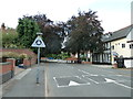 SP0882 : Road sign in Grove Road by Basher Eyre