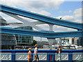 TQ3380 : Walking across Tower Bridge by Stephen McKay