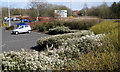 SP0466 : Landscaping, store car park, Smallwood, Redditch by Robin Stott