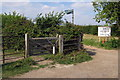 TL0045 : Footpaths at Hall End by Philip Jeffrey