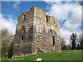NT9239 : Etal castle keep by Stephen Craven