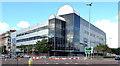 "J3374 : The ""Interpoint"" Building, Belfast (25) by Albert Bridge"