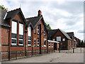 SE4604 : Goldthorpe - rear of school on Doncaster Road by Dave Bevis