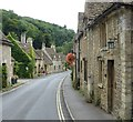 ST8477 : Castle Combe - The Street - view southwards by Rob Farrow