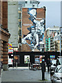 NS5965 : Glasgow Commonwealth Games Badminton Mural by Thomas Nugent