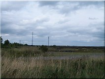 N2021 : Telecommunications mast at the Boora Bog by Eric Jones