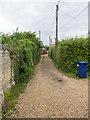 TL2772 : Footpath towards Huntingdon Road by David P Howard
