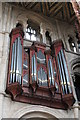 TL1998 : The Organ, Peterborough Cathedral by J.Hannan-Briggs