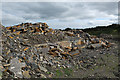 SD5103 : Disused quarry at Pimbo Bushes by Gary Rogers