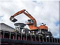 SJ3978 : Mechanical shovel on the CSL Clyde by William Starkey