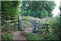 SU7778 : Stile, Thames Path by N Chadwick