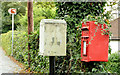 J3978 : Drop box and postbox, Holywood by Albert Bridge