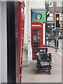TQ7468 : Rochester: phone boxes outside the old post office by Chris Downer