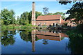 SP0981 : Reflections on Sarehole Mill by John M