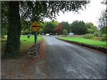 R4052 : A junction on the N69 by Neville Goodman