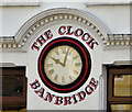 J1245 : Jeweller's clock, Banbridge by Albert Bridge