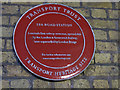 Photo of Spa Road railway station, London red plaque