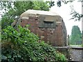 SU0061 : Restored pillbox, from the canalside by Christine Johnstone