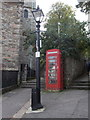SW8032 : Falmouth: phone box next to the church by Chris Downer