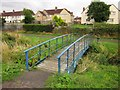 ST5878 : Trymside Bridge, Trymside Open Space by Derek Harper